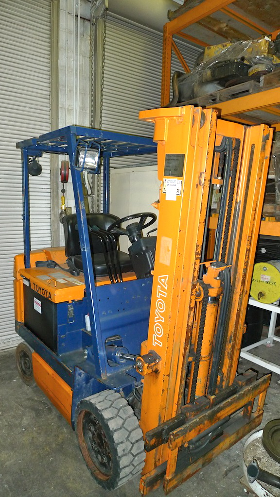 Bolland Machine For Sale Toyota 5fbc25 Electric Forklift