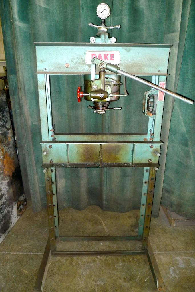 Bolland Machine For Sale Dake 50h Hand Operated 50 Ton