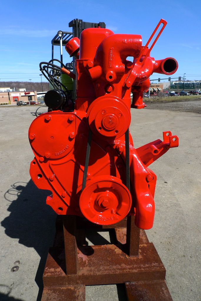 Bolland Machine | For Sale: 1954 Farmall Super A Engine