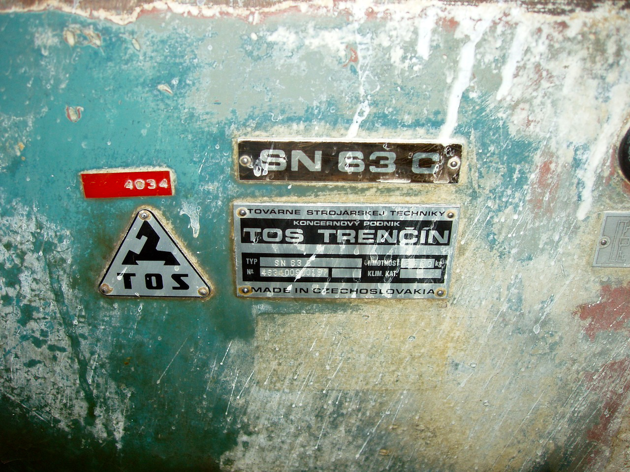 Bolland Machine For Sale Tos Trencin Sn 63 C Lathe 26
